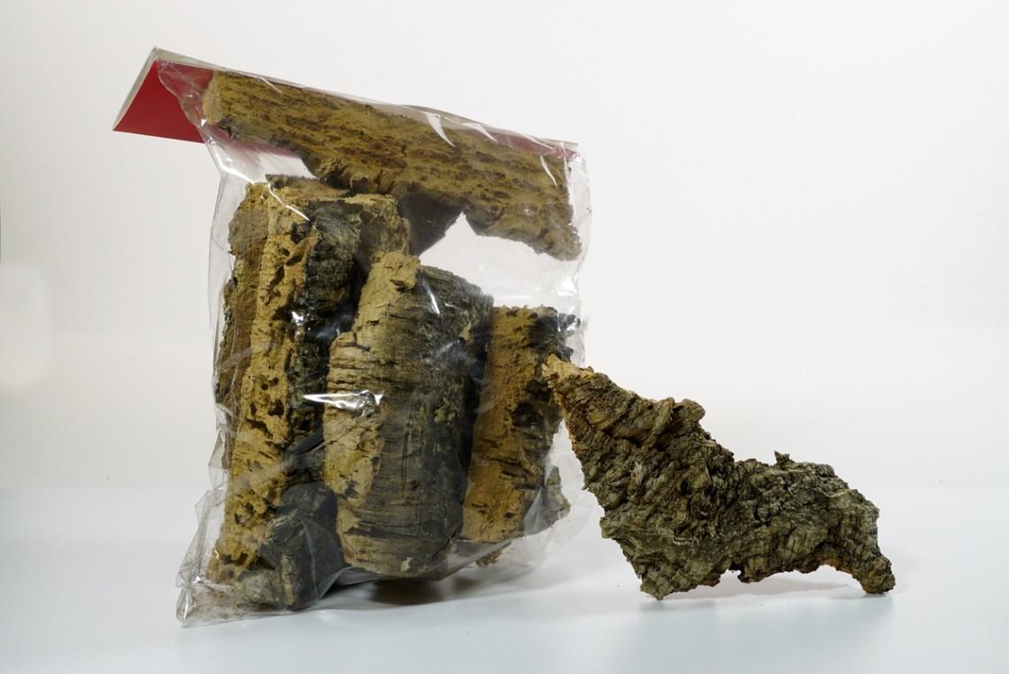 Corteccia di sughero grezza 1kg