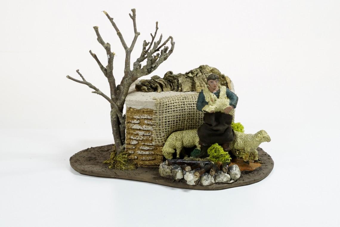 Pastore culla pecora